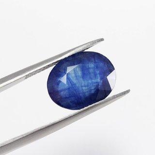 MANGLAM RAJ RATAN 7.5 Ratti Beautiful Stone of Blue Sapphire Neelam Stone