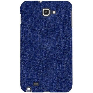 G.store Printed Back Covers for Samsung Galaxy Note  blue
