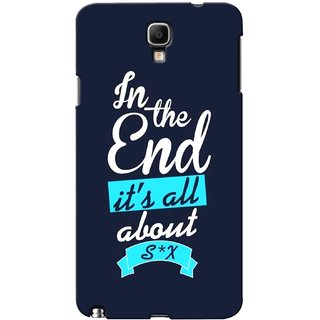 G.store Printed Back Covers for Samsung Galaxy Note 3 Neo Blue