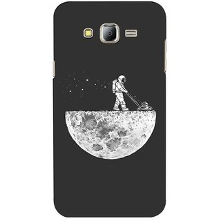 G.store Printed Back Covers for Samsung Galaxy J7 Grey