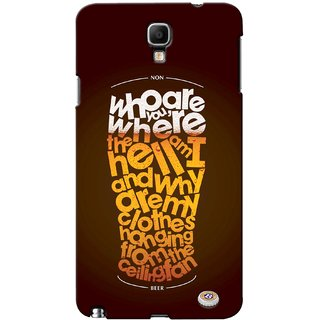 G.store Printed Back Covers for Samsung Galaxy Note 3 Neo Multi