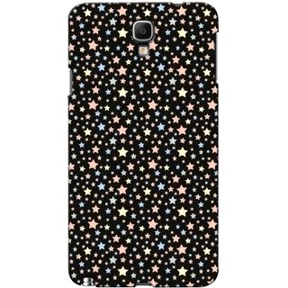 G.store Printed Back Covers for Samsung Galaxy Note 3 Neo Black