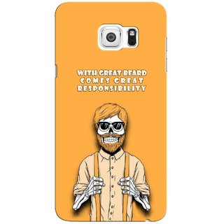G.store Printed Back Covers for Samsung Galaxy Note 5 Yellow