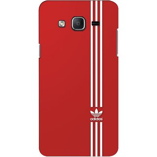 G.store Printed Back Covers for Samsung Galaxy On5 Red