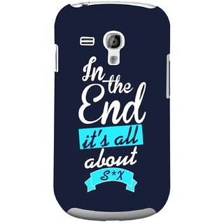 G.store Printed Back Covers for Samsung Galaxy S3 Mini Blue