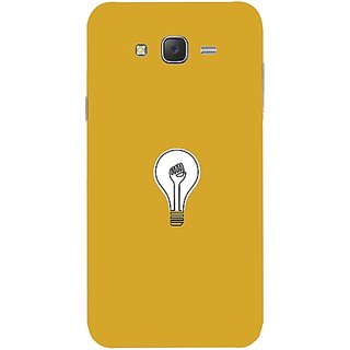Casotec Lamp Design Hard Back Case Cover for Samsung Galaxy J7