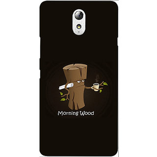 Casotec Tree Art Design Hard Back Case Cover for Lenovo Vibe P1M