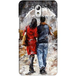 G.store Printed Back Covers for Lenovo Vibe P1m Multi