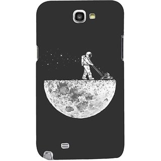 G.store Printed Back Covers for Samsung Galaxy Note 2 Grey