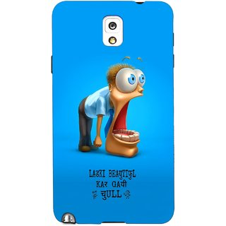 G.store Printed Back Covers for Samsung Galaxy Note 3 Blue