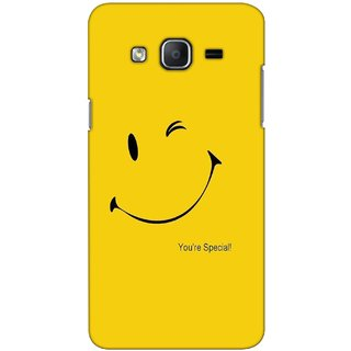 G.store Printed Back Covers for Samsung Galaxy On7  Yellow