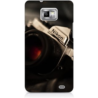 G.store Printed Back Covers for Samsung Galaxy S2 Black