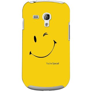 G.store Printed Back Covers for Samsung Galaxy S3 Mini Yellow