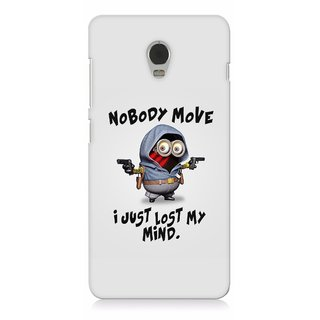 G.store Printed Back Covers for Lenovo Vibe P1 Grey