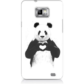 G.store Printed Back Covers for Samsung Galaxy S2 White