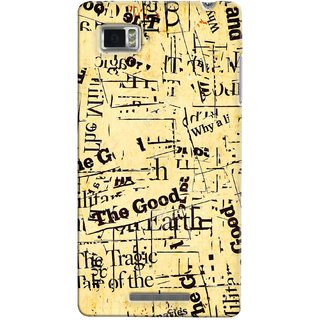 G.store Printed Back Covers for Lenovo Vibe Z K910 Multi