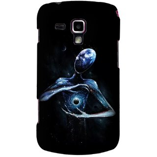 G.store Printed Back Covers for Samsung Galaxy S Duos S7562 Black
