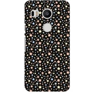 G.store Printed Back Covers for LG Google Nexus 5X Black