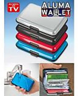 Aluma Wallet Purse Credit Card ATM Money Holder Organizer For Men Women Ladies