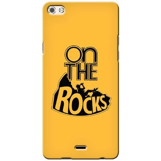 G.store Printed Back Covers for Micromax Canvas 5 Q450 Yellow
