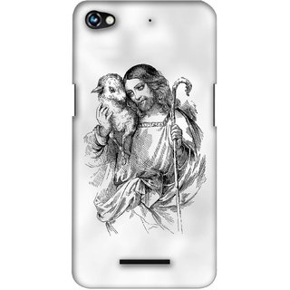 G.store Printed Back Covers for Micromax Canvas Hue 2 A316  White