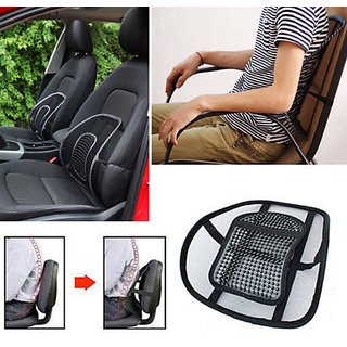 Car Back Seat Massage Chair Lumbar Back Support Cushion hd soft comfy