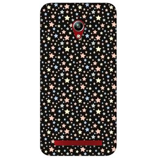G.store Printed Back Covers for Asus ZenFone Go Black