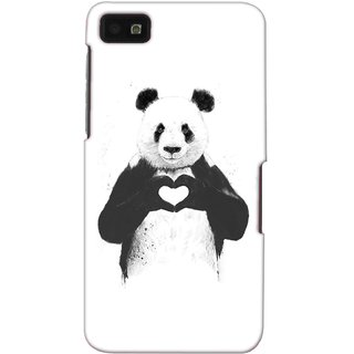 G.store Printed Back Covers for Blackberry Z10 White