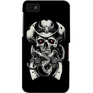 G.store Printed Back Covers for Blackberry Z10 Black