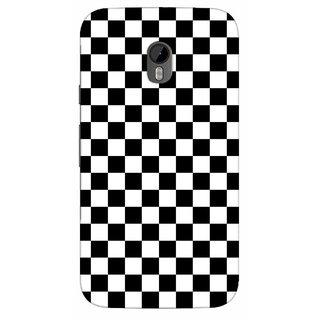G.store Printed Back Covers for Motorola Moto G (3rd gen) Black