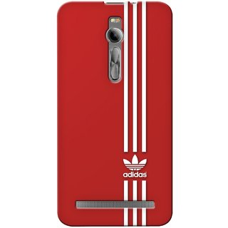 G.store Printed Back Covers for Asus Zenfone  2 Red