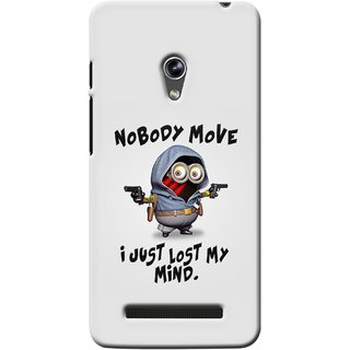 G.store Printed Back Covers for Asus Zenfone 5 Grey