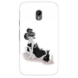 G.store Printed Back Covers for Motorola Moto G (3rd gen) White