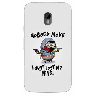 G.store Printed Back Covers for Motorola Moto G (3rd gen) Grey