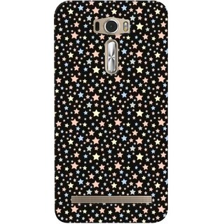 G.store Printed Back Covers for Asus ZenFone 2 Laser (ZE601KL) Black