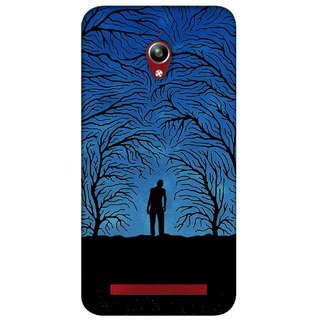 G.store Printed Back Covers for Asus ZenFone Go Blue