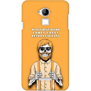 G.store Printed Back Covers for Coolpad Dazen Note 3 Yellow