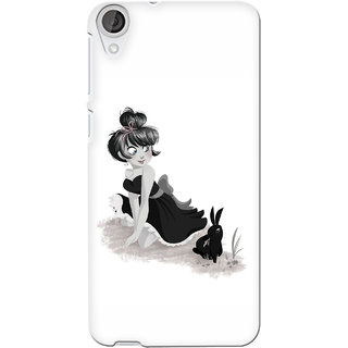 G.store Printed Back Covers for Htc Desire 820 White