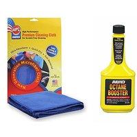 Octane Booster OB506 (354 ml), 1 Microfiber Cloth Combo