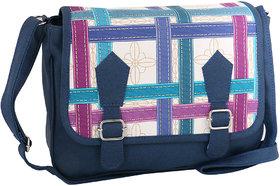 Sukkhi Stylish Blue CrossBody Sling Bag