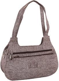 Sukkhi Grey Stylish Shoulder Handbag