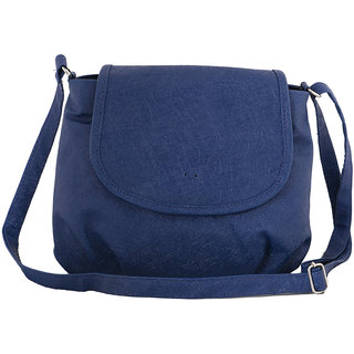 Sukkhi Classy Blue Sling Bag