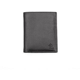 Kara Mens Wallet (9027 Black Book Shaped)