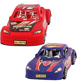 DealBindaas Sports Car 2 Pcs Pull Back Action Toy Assroted