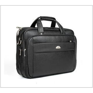 Leather Corporate Traveler Laptop Bag