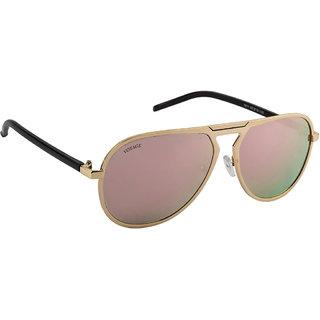 Voyage Golden Aviator Sunglasses