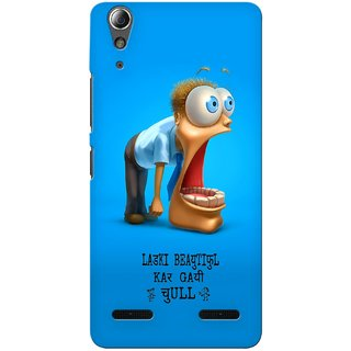 G.store Printed Back Covers for Lenovo A6000 Plus Blue