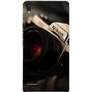 G.store Printed Back Covers for Huawei Ascend P6 Black