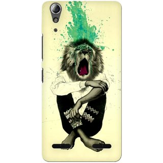 G.store Printed Back Covers for Lenovo A6000 Plus Multi