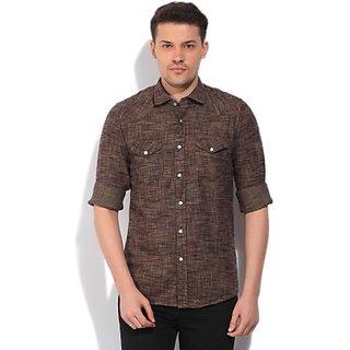 Casual Brown Shirt